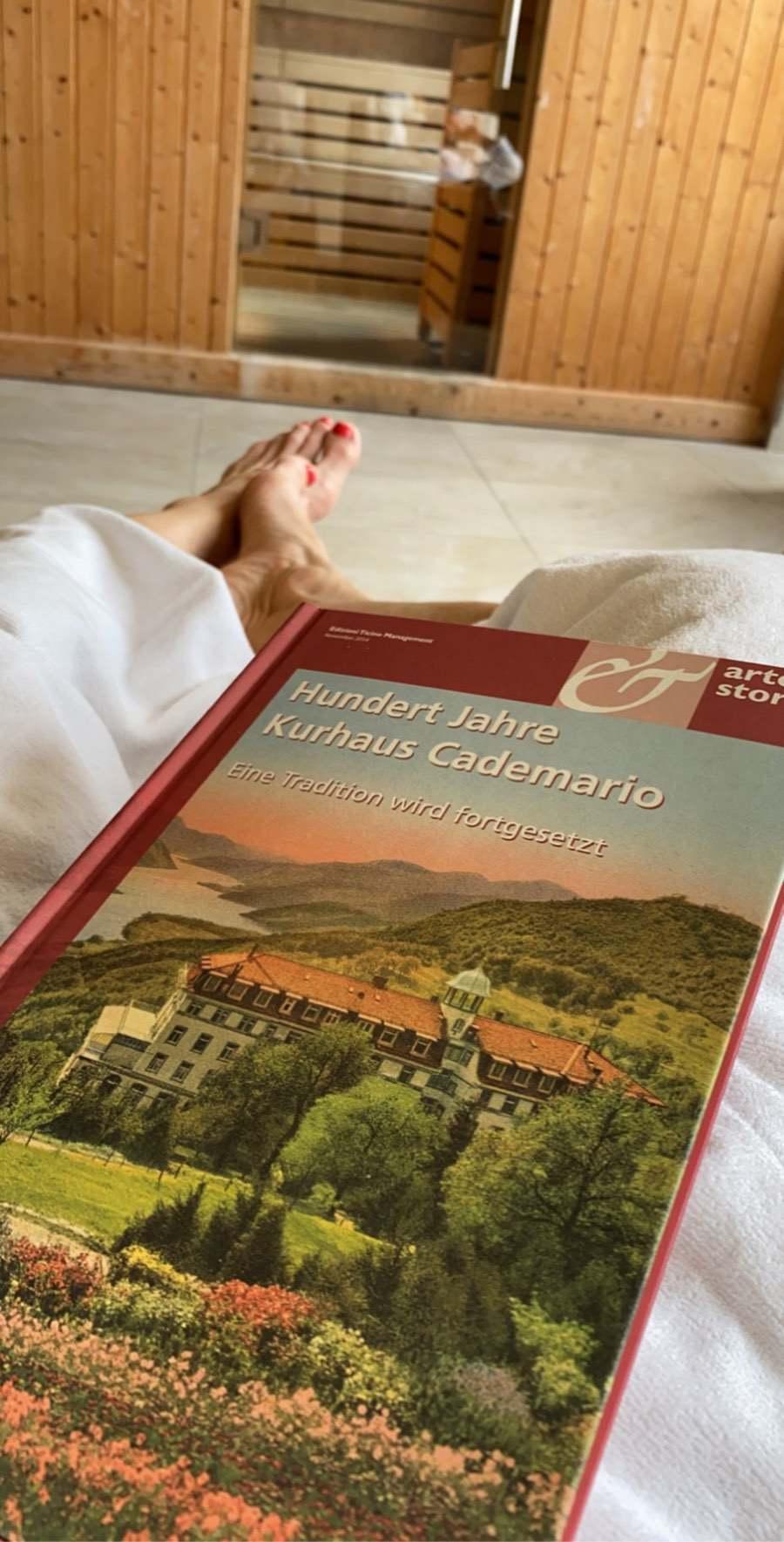 Das Buch Hundert Jahre Kurhaus Cademario