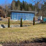Das gläserne Yogahaus