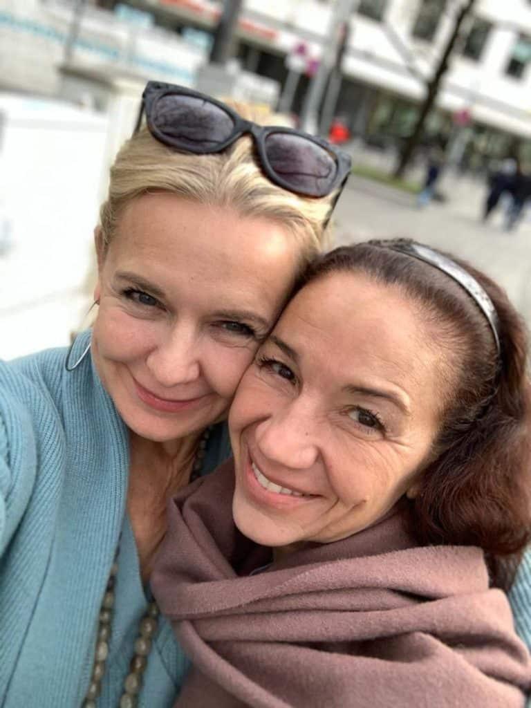 mit meiner Freundin Bibi in München