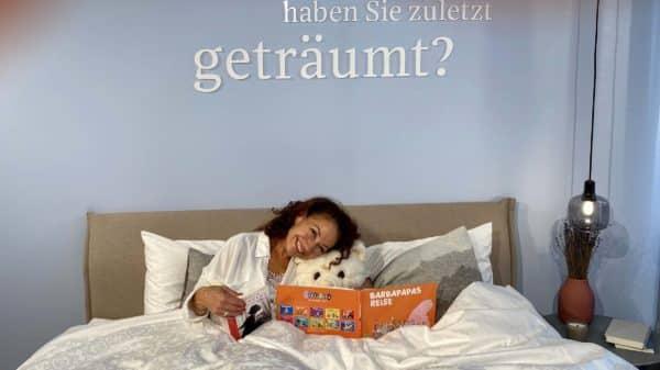 Buchlesen zum Einschlafen