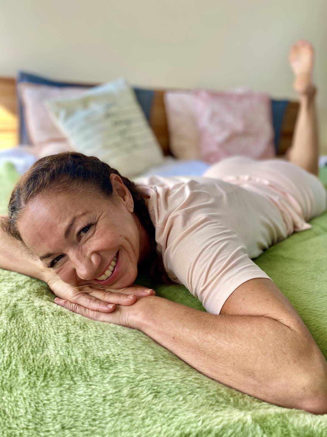 Angenehme Bettwäsche helfen zu mehr Schlafqualität