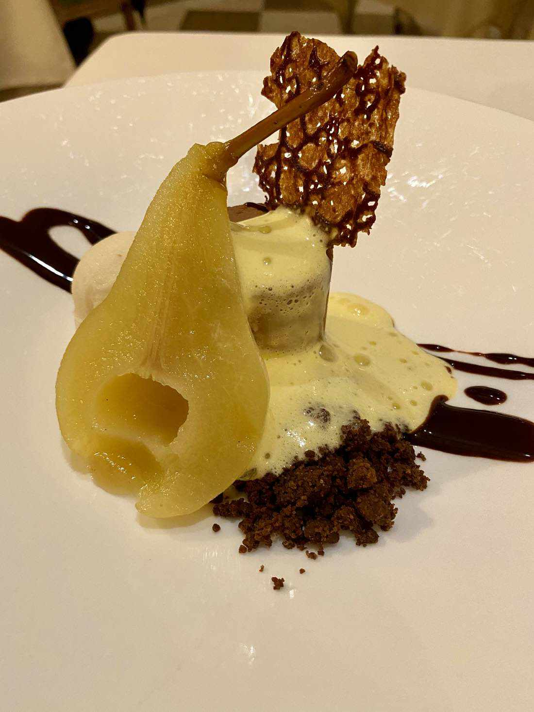 köstliches Dessert 16 Gault Millau