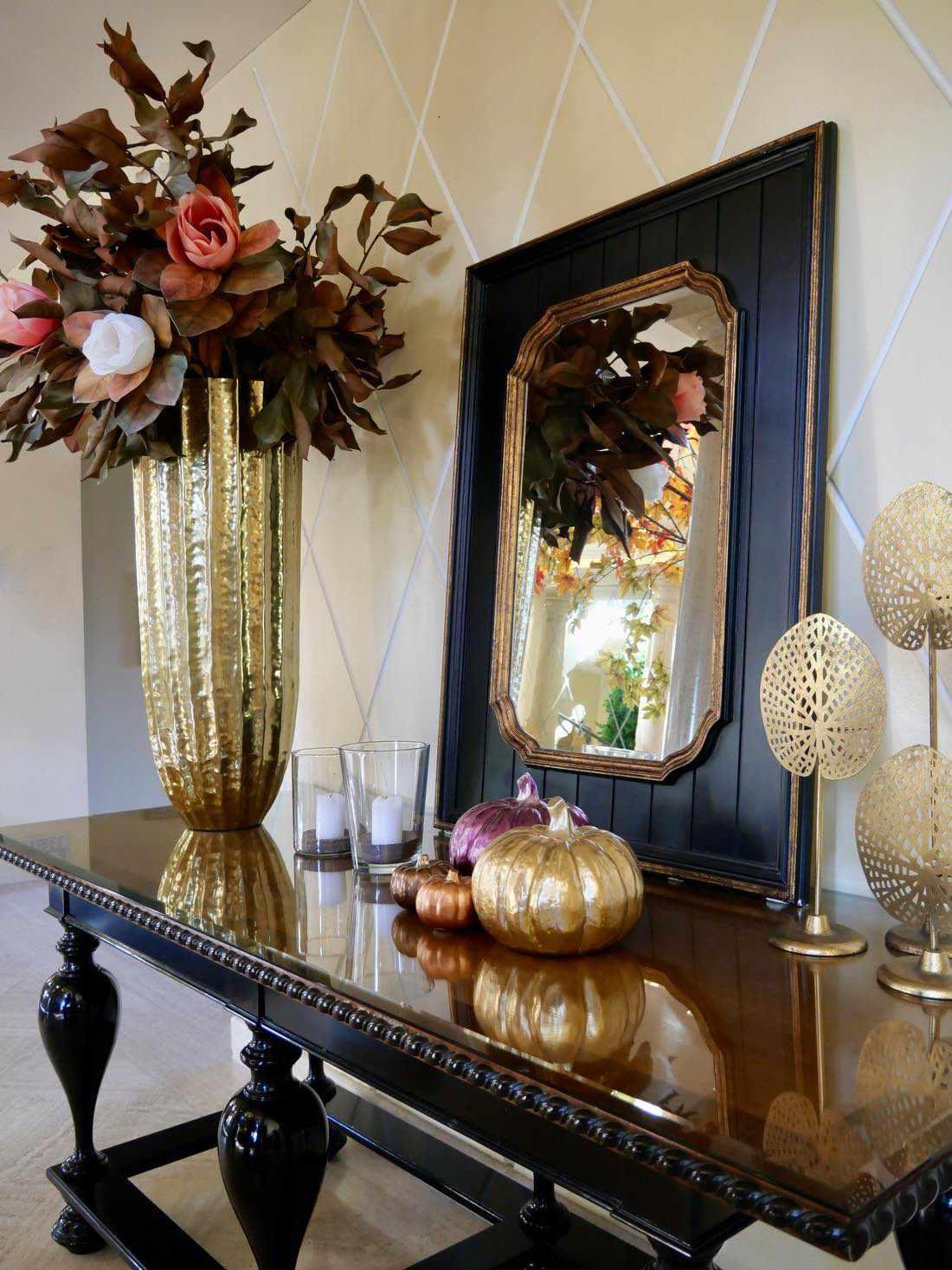 prachtvolle Dekoration Innenbereich