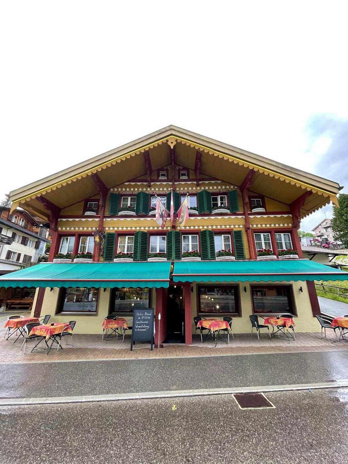 Hotel Bellevue aeltestes Hotel von Grindelwald